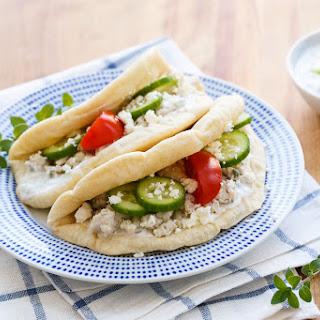 Greek Turkey Tacos