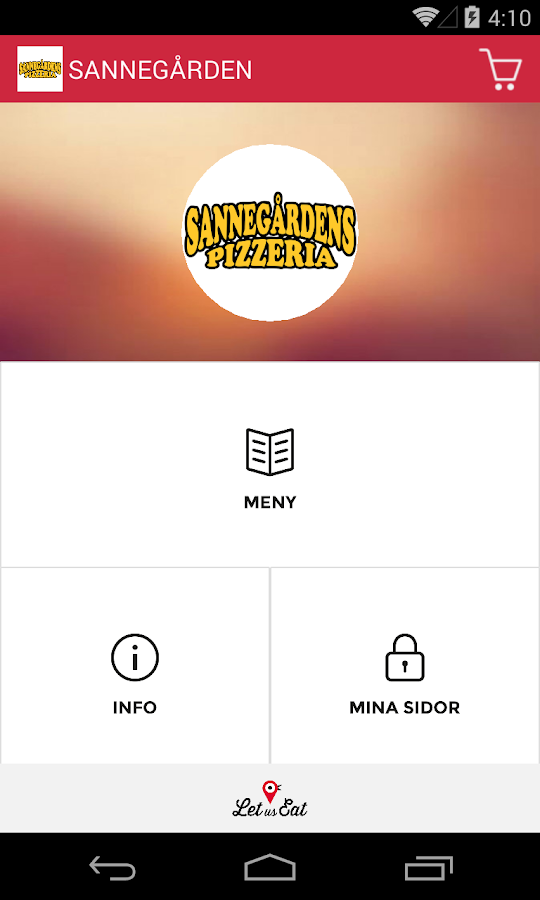 Sannegårdens Pizzeria- screenshot