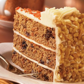 Walnut Carrot Cake.
