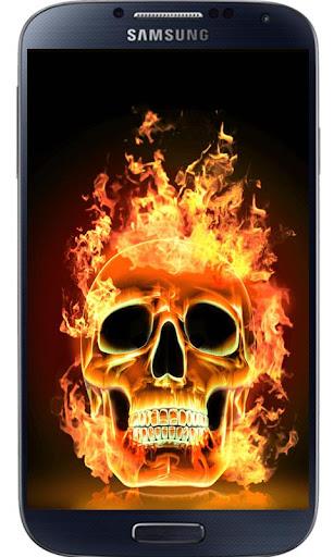 玩免費娛樂APP|下載3D火骷髅锁 app不用錢|硬是要APP