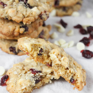 Oatmeal White Chocolate Chip Cranberry Cookies