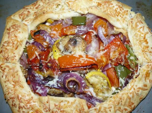 Roasted Vegetable Tart Recipe