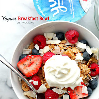 Yogurt Breakfast Bowl.