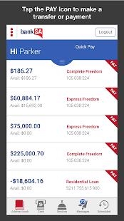 BankSA Mobile Banking - screenshot thumbnail