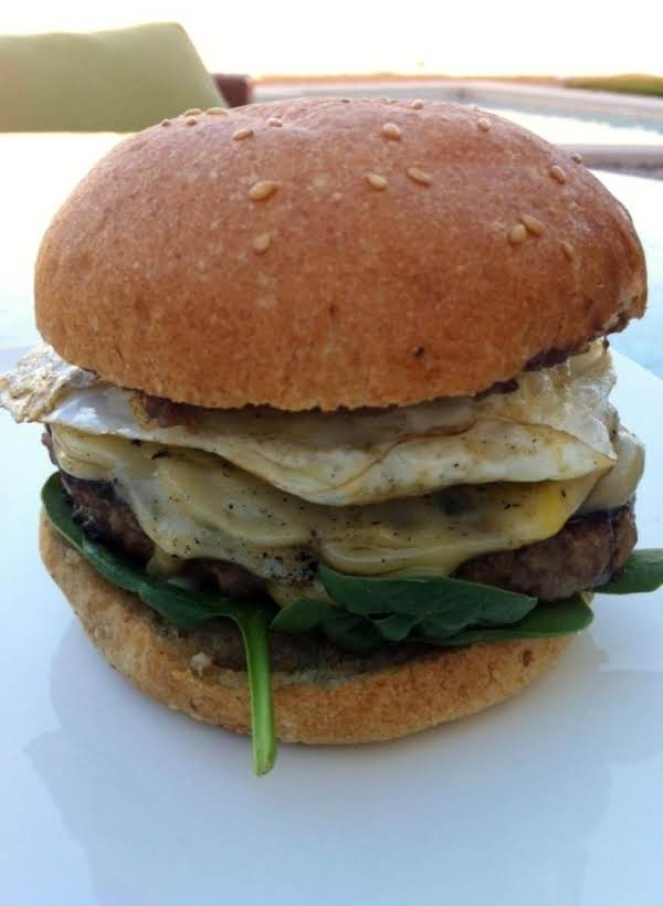 Classic American Breakfast Burger Recipe