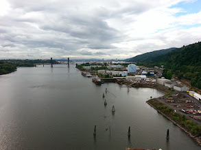 Photo: Day 2 From top of St John Bridge