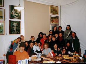 Photo: klasowa wigilia  ceramicy 12. 2004 r.