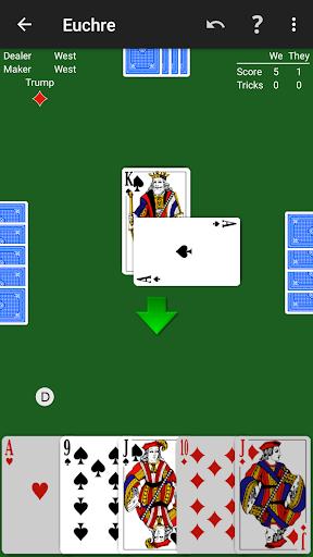 Euchre by NeuralPlay 2.41 screenshots 1