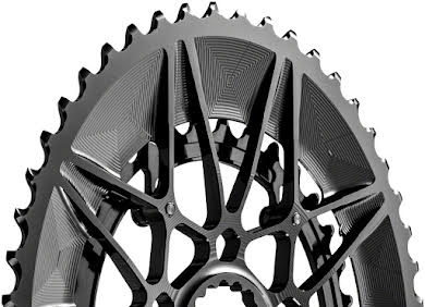 _OLD_Cliff Bar_DNU SpideRing Oval Direct Mount Chainring Set - 52/36t, Cannondale Hollowgram Direct Mount alternate image 0