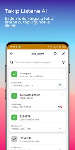 Kargom Nerede - Kargo Takip screenshot 5