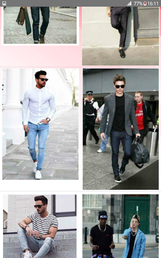 Street Fashion Men Swag Style 1.0 screenshots 12