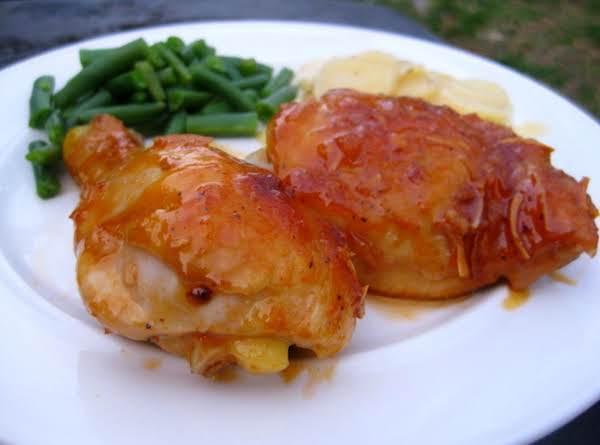 Apricot, Balsamic Chicken Recipe