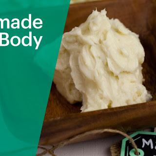 Homemade CALM Body Butter.