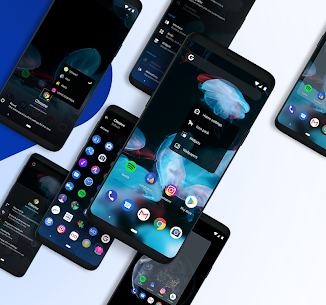 hyperion launcher 70 Mod Apk attractive and full-featured launcher for Android + MOD 5