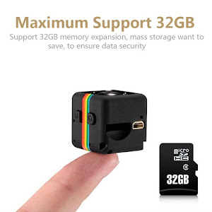Mini camera video Full HD, SQ11 MINI DV, cu functie video si foto, Negru