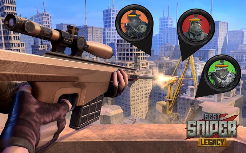 Best Sniper Legacy: Dino Hunt & Shooter 3D Screenshot 2