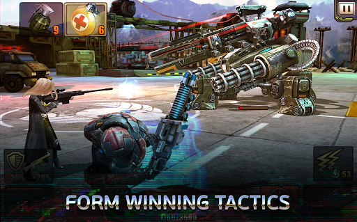 Evolution: Battle for Utopia. Shooting games free android2mod screenshots 24
