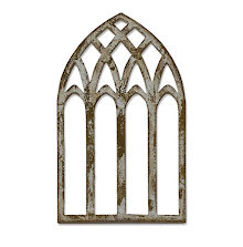 Tim Holtz Sizzix Bigz Die - Cathedral Window