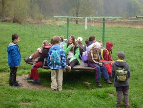 Photo: Zatím jsme dorazili na dětské hřiště