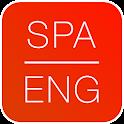 Dictionary Spanish English icon