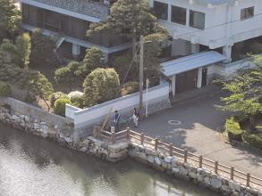 Photo: 天守閣からズーム