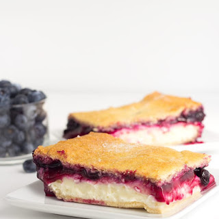 Blueberry Cream Cheese Danish with Crescent Rolls.
