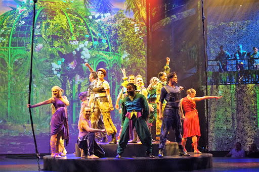 """celebrity-edge-musical.jpg - Celebrity Edge has three original production shows. A highlight is """"A Hot Summer Night's Dream,"""" a twist on the classic Shakespearean play."""
