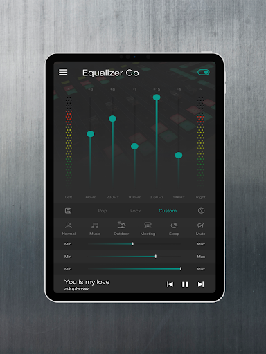 Equalizer Bass Booster Pro screenshot 8