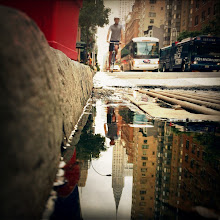 Photo: Puddleography in New York City by Brian Podolsky. http://eyeem.com/u/brianpodolsky  Learn how to shoot awesome reflections yourself in this little tutorial: http://blog.eyeem.com/?p=12528 — in New York, NY.
