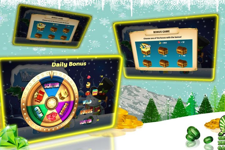 android Winter Wonderland Slots Screenshot 2