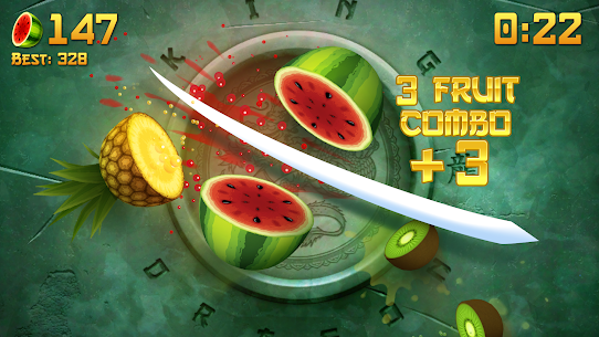 Fruit Ninja Mod Apk (Unlimited Scores + Money) 2