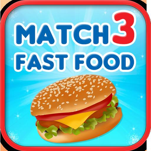 解谜のMatch 3 - Fast Food LOGO-記事Game