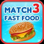 Match 3 - Fast Food Icon