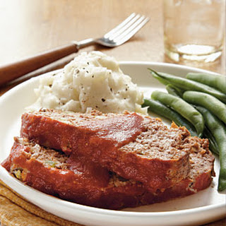 Old-Fashioned All-American Meat Loaf