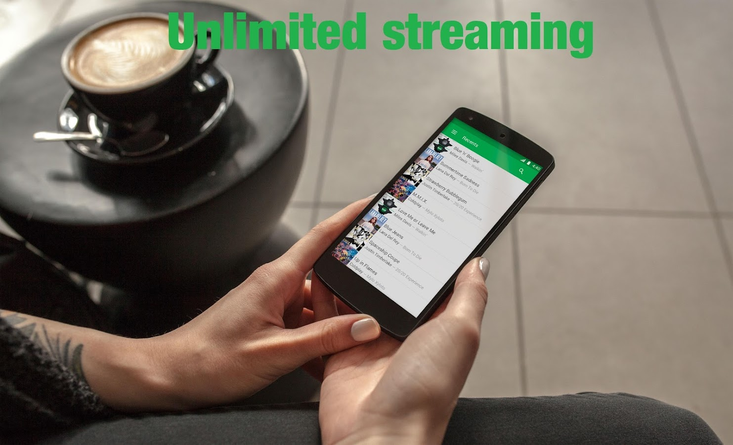 Free Music Stream MP3 HQ Sound- screenshot