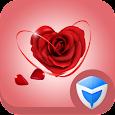 AppLock Theme - Love Roses icon