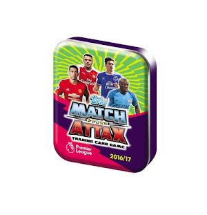 Pocket Tin - Topps MATCH ATTAX Premier League 2016-2017