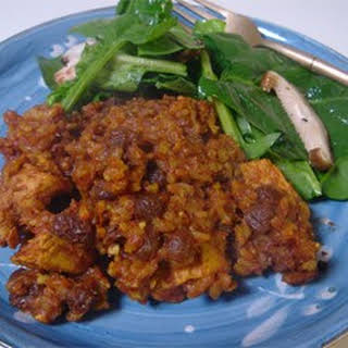 Curried Chicken and Brown Rice Casserole.