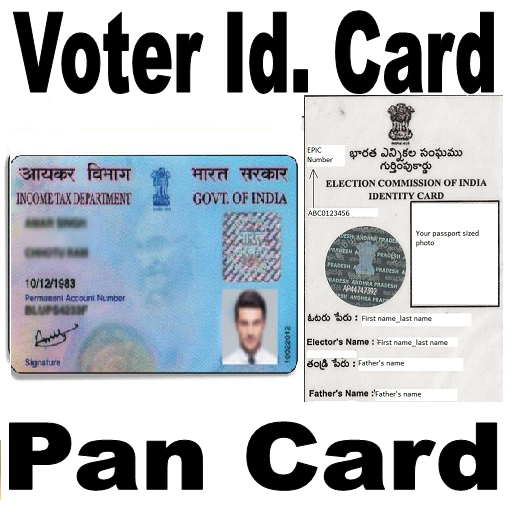 Voter Card and Pan Card Get (app)