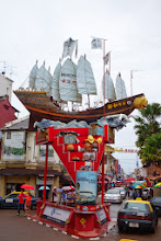 Photo: Entrance to Jonker Street - the colonial merchant section