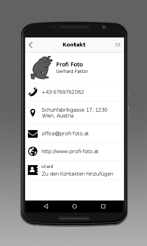 Profi-Foto- screenshot