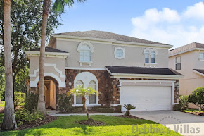 Private Orlando villa, close to Disney, west-facing pool and spa, conservation view, games room