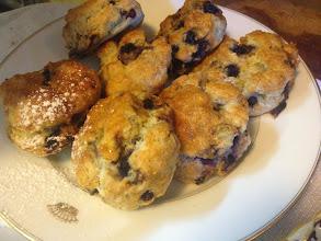 Photo: Fresh Hot Mountain Blueberry Scones