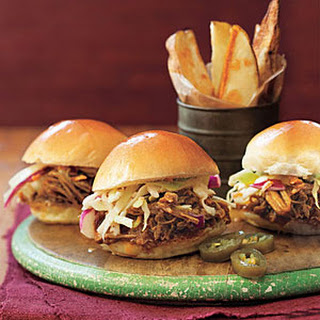 Pulled-Pork Sandwiches.