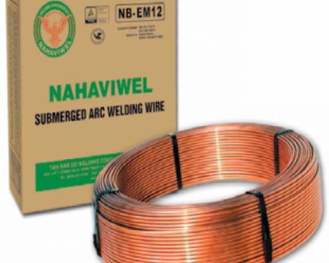 Bật mí các loại dây hàn hồ quang chìm được sản xuất bởi Nahaviwel