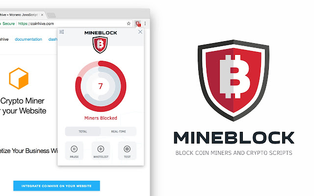MINEBLOCK - Block web miners & crypto scripts