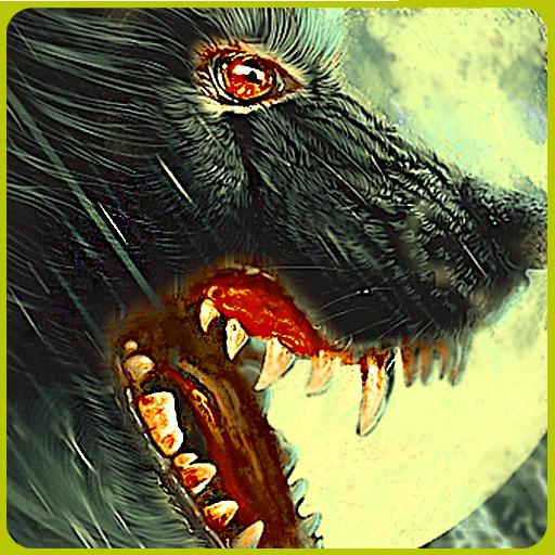 动作の狼ハンター狙撃撮影 LOGO-記事Game