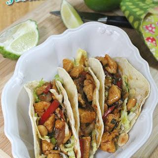 Szechuan Chicken Tacos