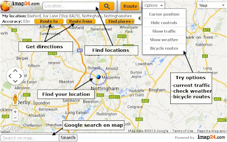 Quick maps - imap24 com with Google Maps™ api Chrome插件下载crx 扩展