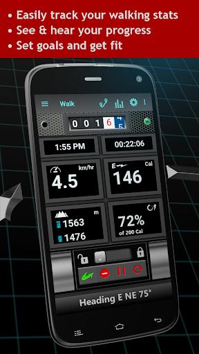 Walking Odometer Pro: GPS Fitness Pedometer screenshots 2